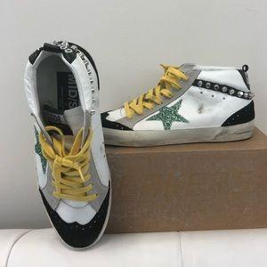 Golden Goose white low top sneaker